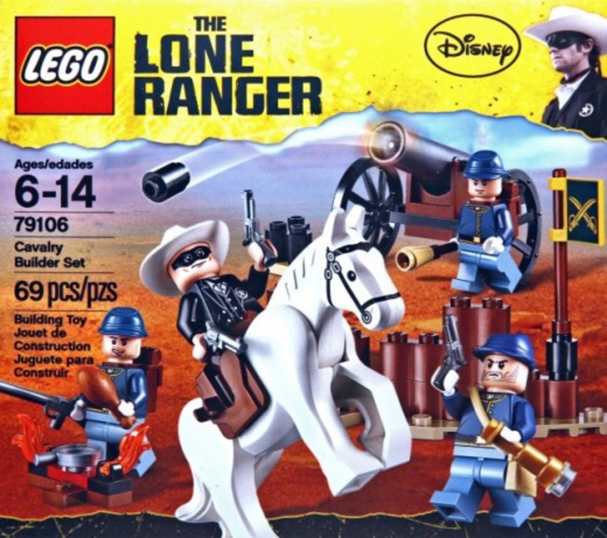 LEGO The Lone Ranger Cavalry Builder's Set 79106 Box