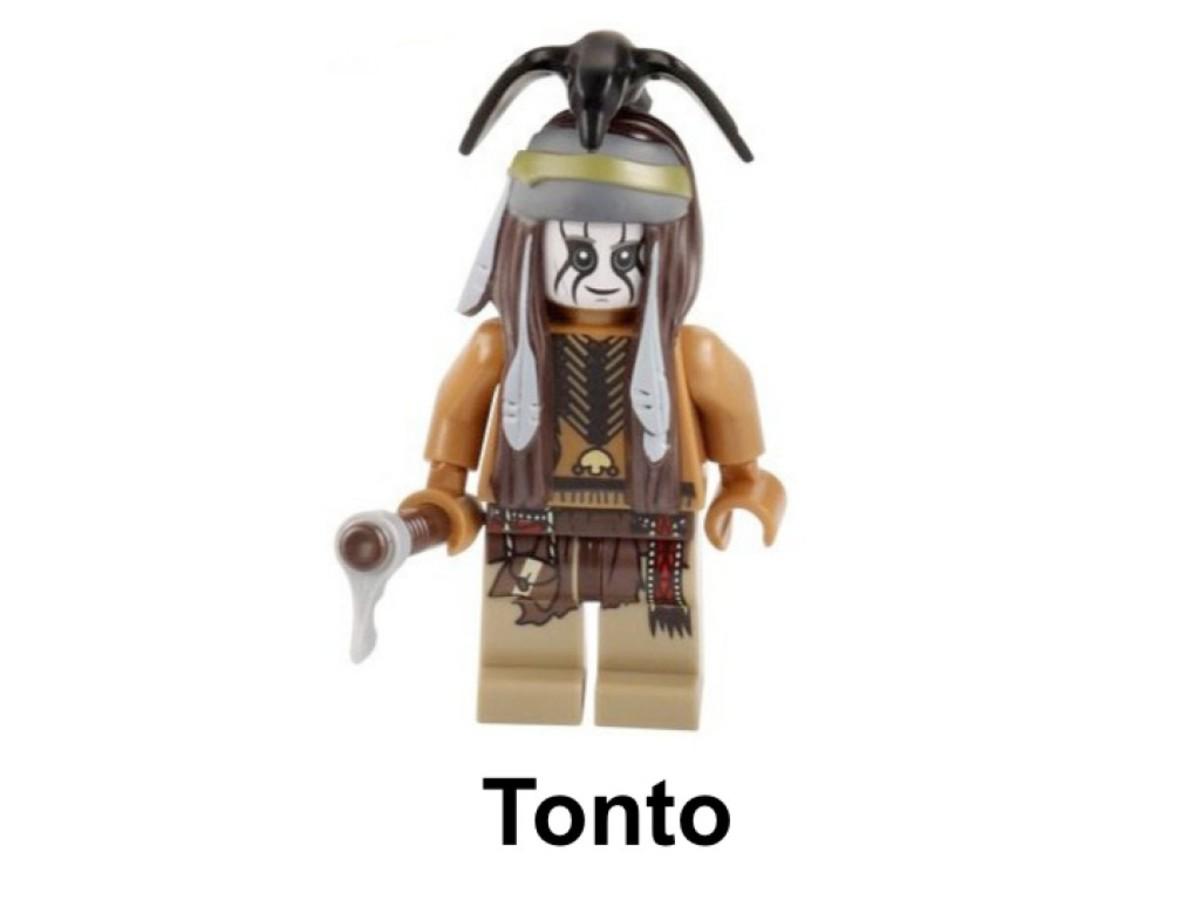 LEGO The Lone Ranger Tonto's Campfire 30261 Tonto Minifigure