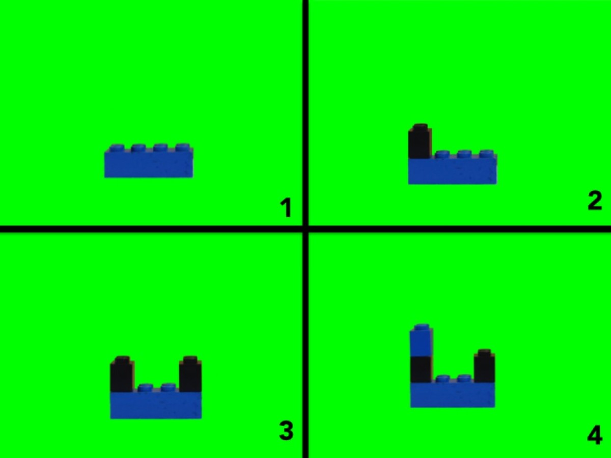 How To Build LEGO Numbers