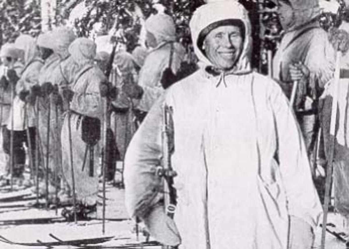Simo Hayha during the Winter War