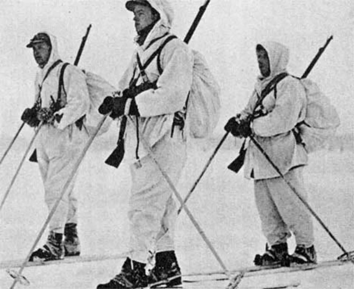 Norwegian Winter War Volunteers Fighting For Finland