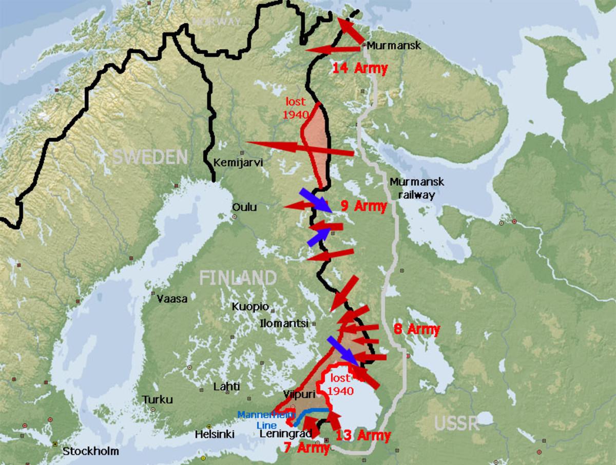 Soviet invasion of Finland,1939