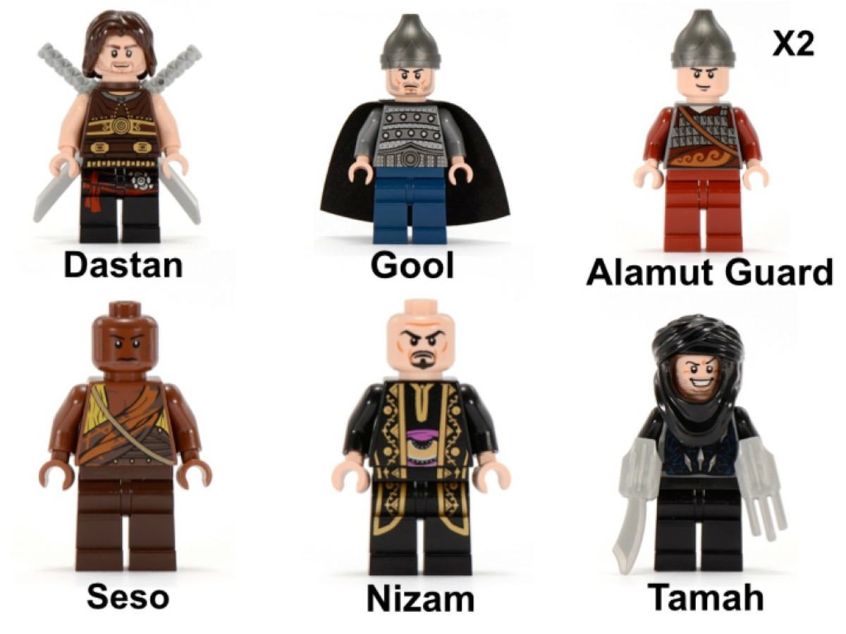 LEGO Prince of Persia Battle of Alamut 7573 Minifigures