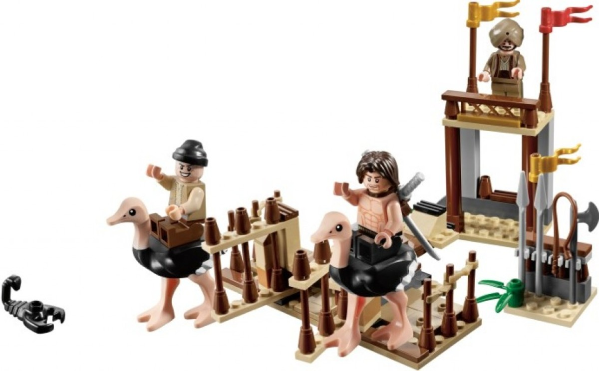 LEGO Prince of Persia The Ostrich Race 7570 Assembled
