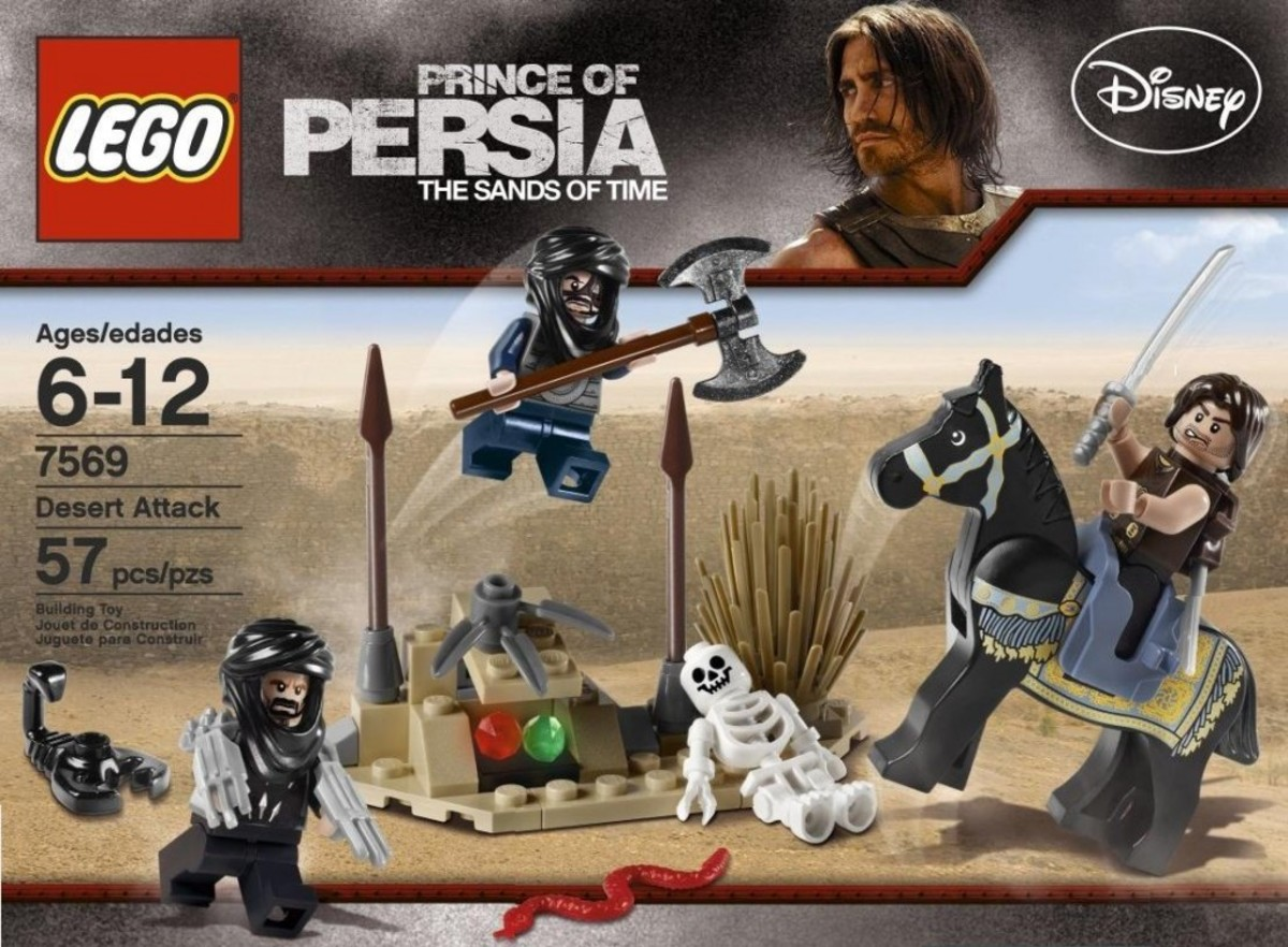 LEGO Prince of Persia Desert Attack 7569 Box