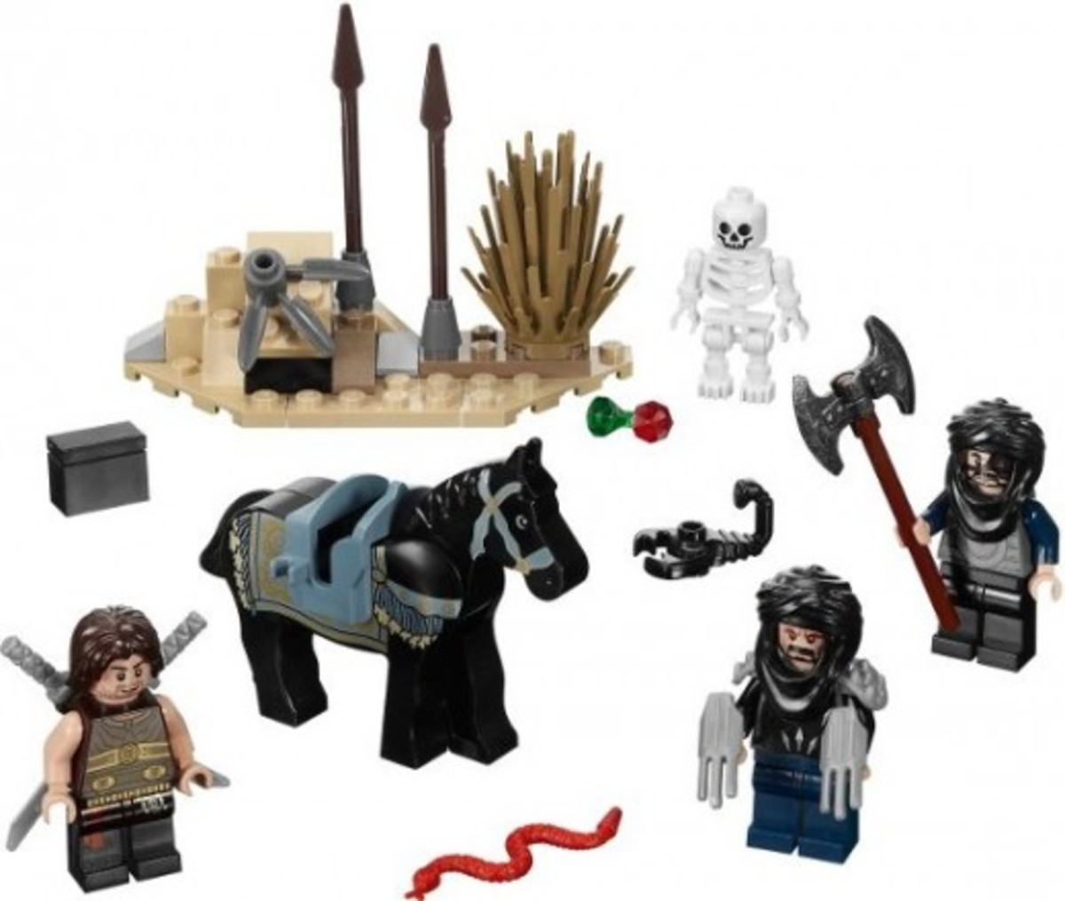 LEGO Prince of Persia Desert Attack 7569 Assembled