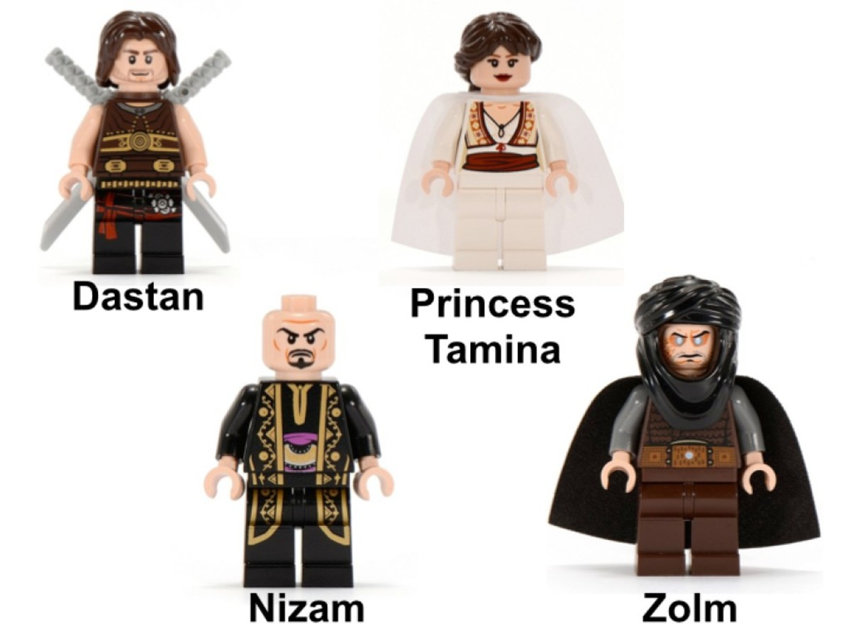 LEGO Prince of Persia Quest Against Time 7572 Minifigures