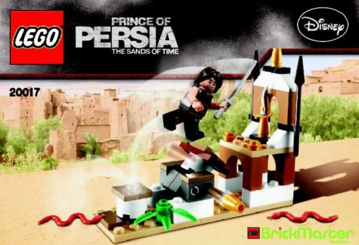 LEGO Prince of Persia Dagger Trap 20017 Box