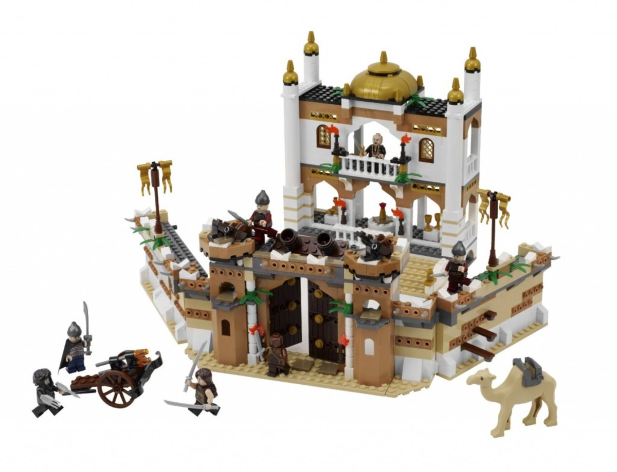 LEGO Prince of Persia Battle of Alamut 7573 Assembled