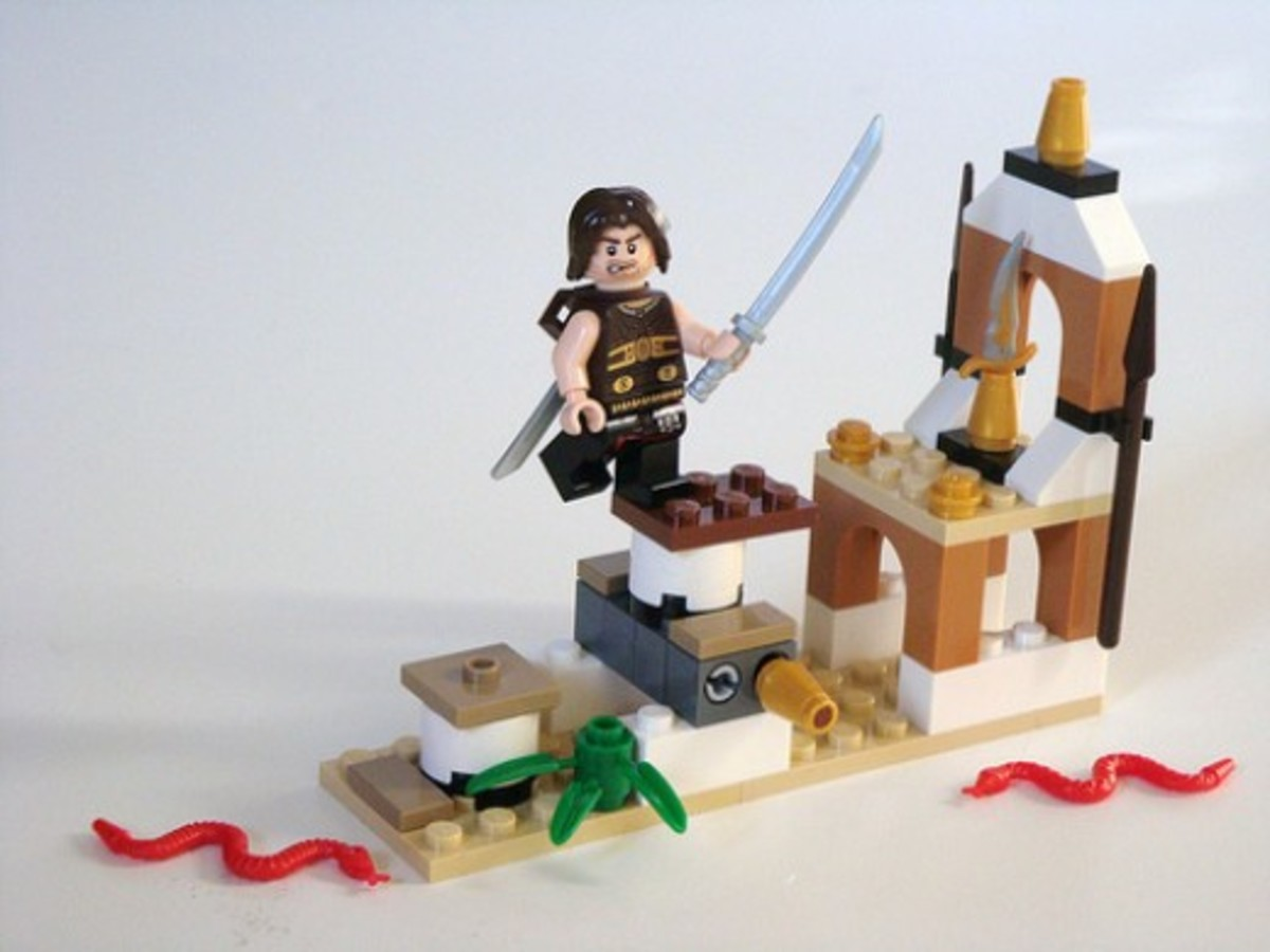 LEGO Prince of Persia Dagger Trap 20017 Assembled