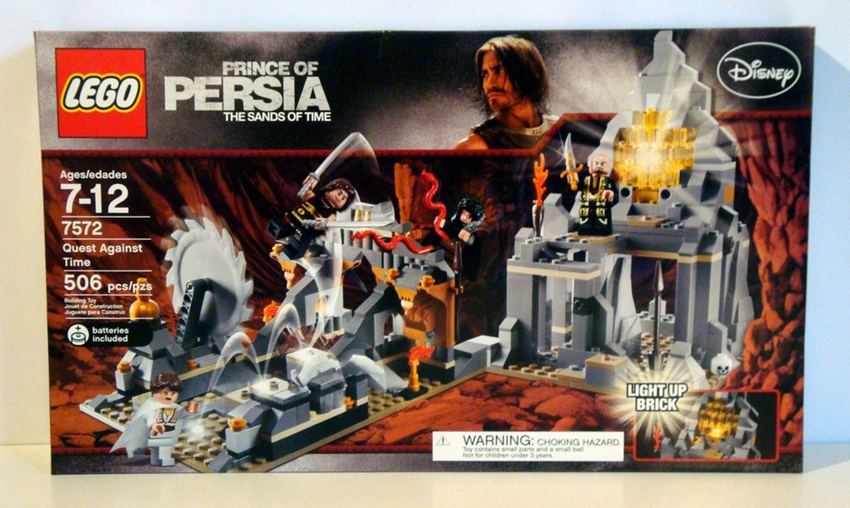 LEGO Prince of Persia Quest Against Time 7572 Box