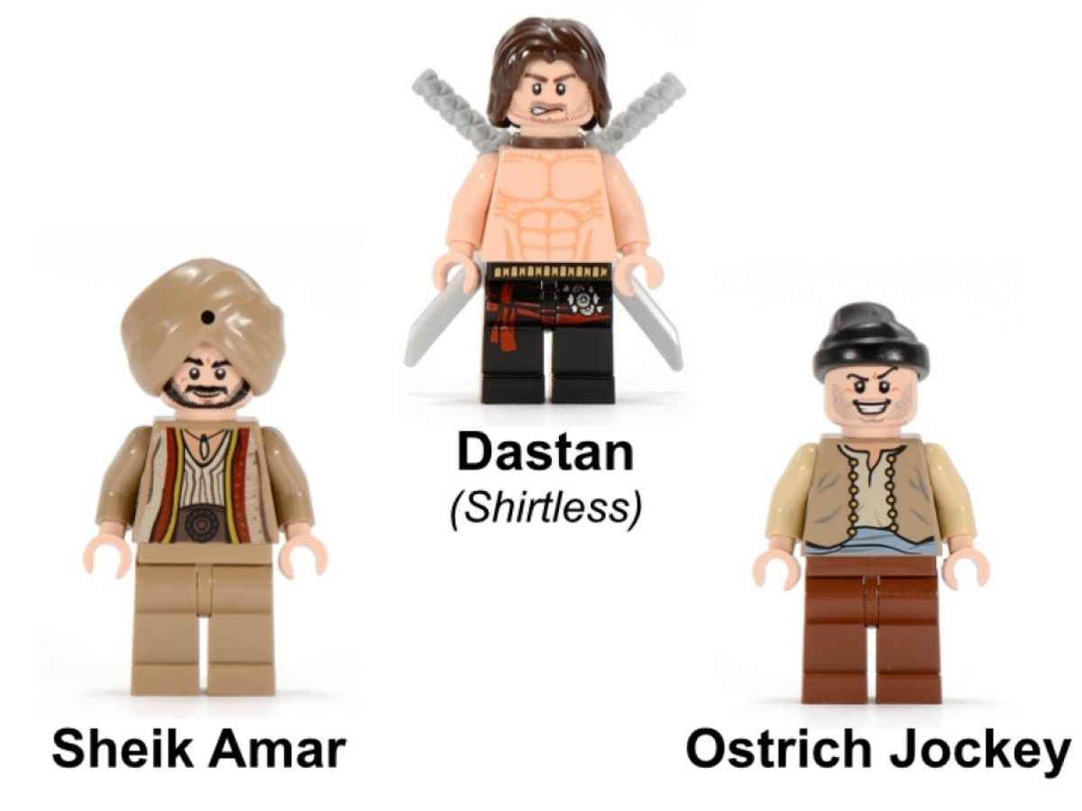 LEGO Prince of Persia The Ostrich Race 7570 Minifigures