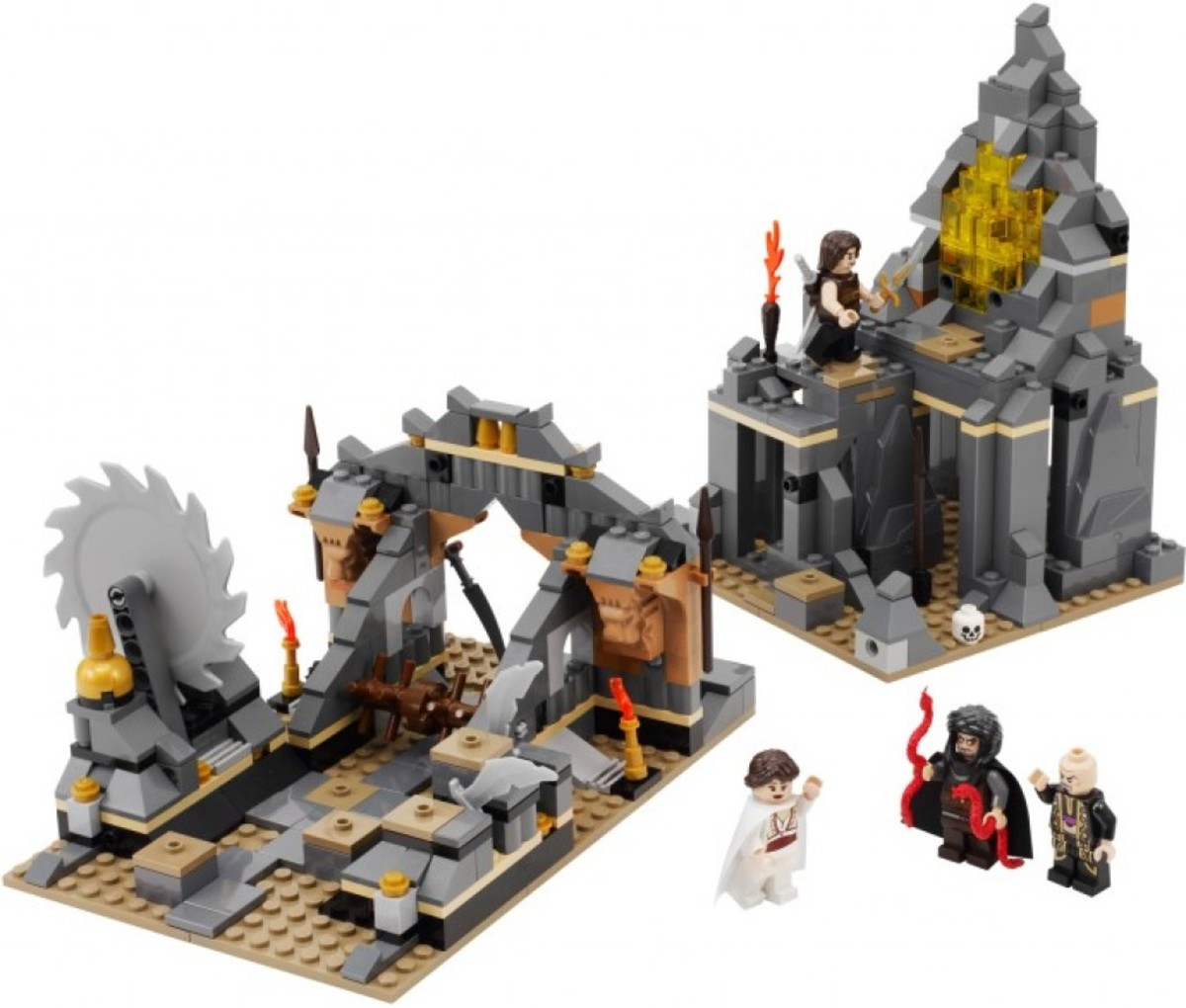 LEGO Prince of Persia Quest Against Time 7572 Assembled