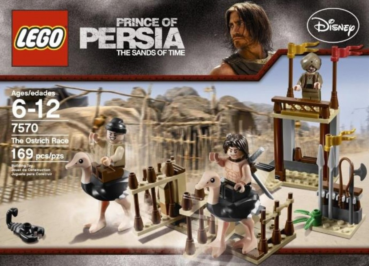 LEGO Prince of Persia The Ostrich Race 7570 Box