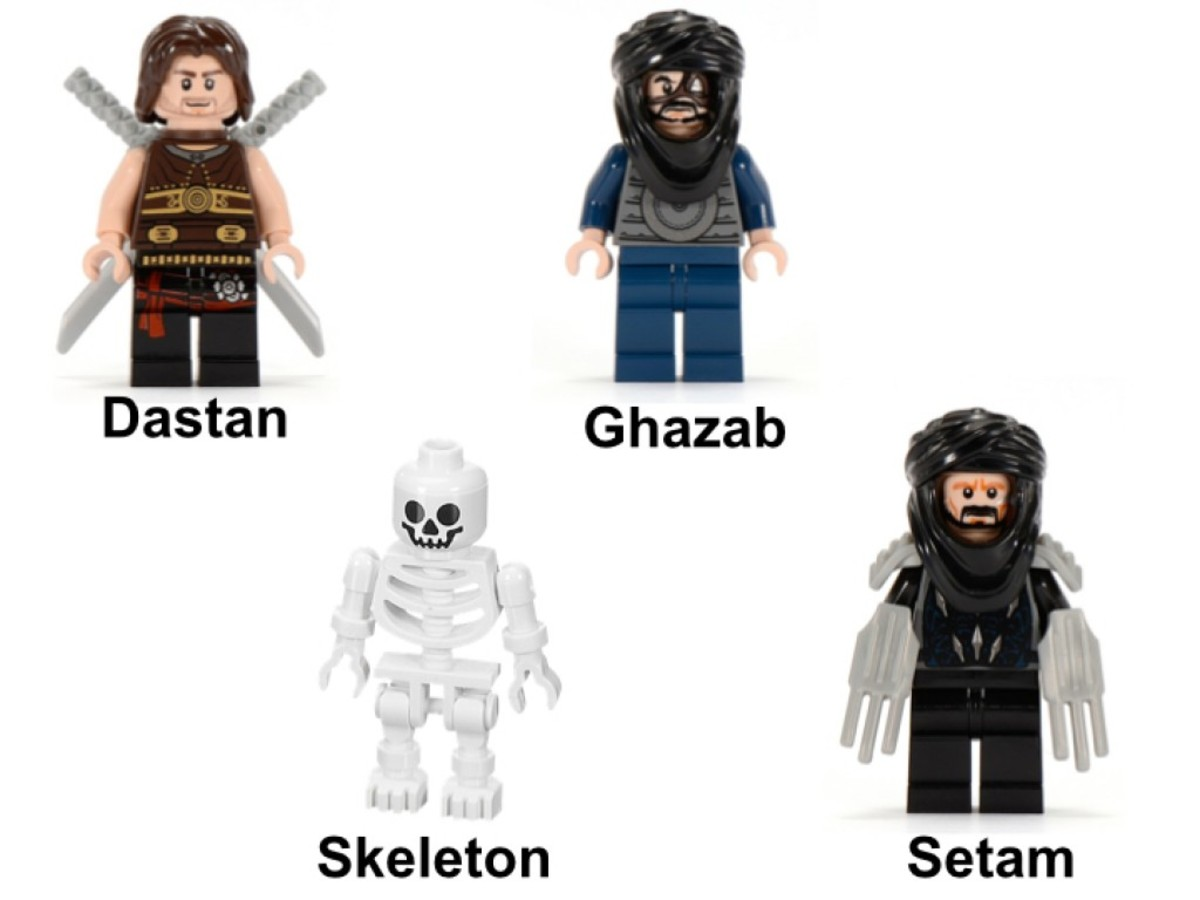 LEGO Prince of Persia Desert Attack 7569 Minifigures