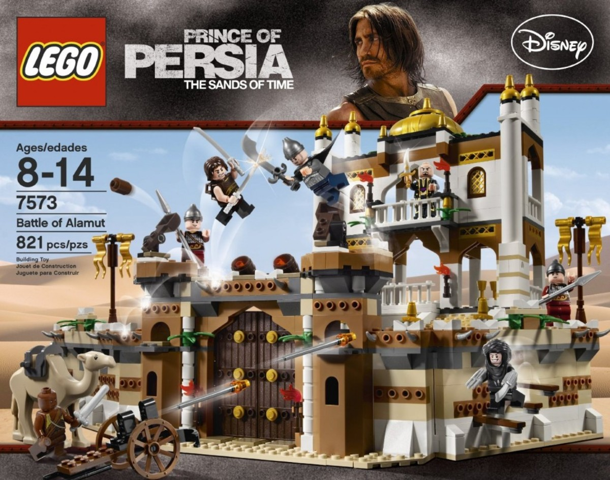 LEGO Prince of Persia Battle of Alamut 7573 Box