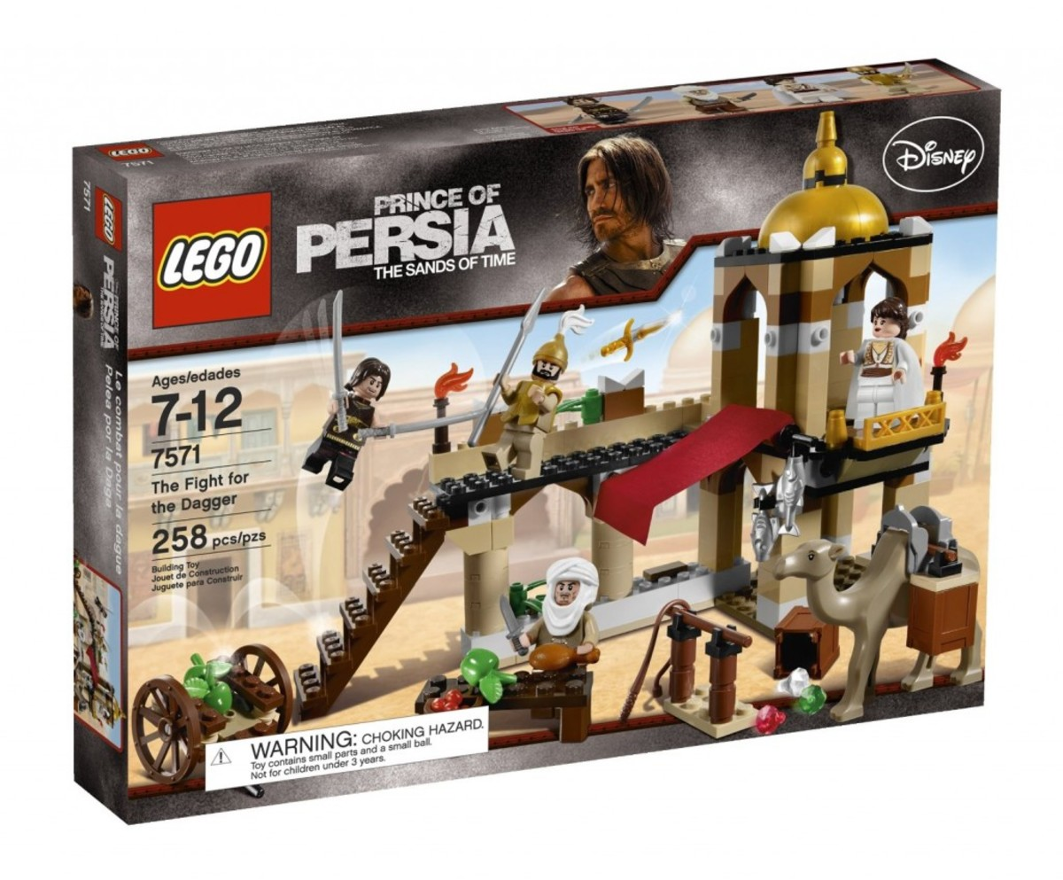 LEGO Prince of Persia The Fight For The Dagger 7571 Box