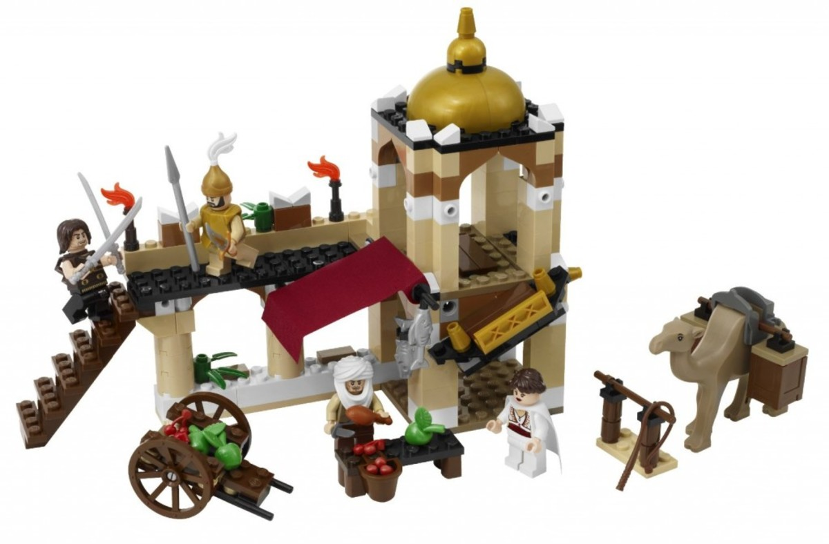 LEGO Prince of Persia The Fight For The Dagger 7571 Assembled
