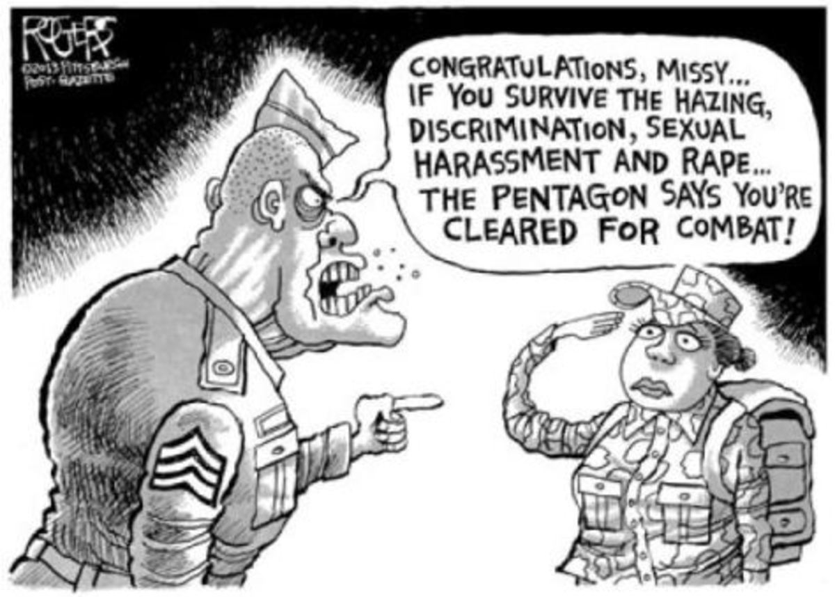 EPIDEMIC: RAPE IN THE MILITARY