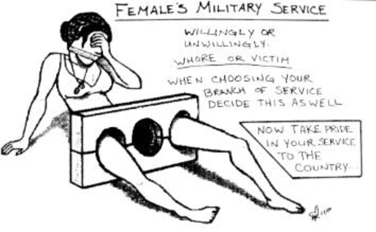 Military Rape Awareness Week: October 12 - 16, 2009