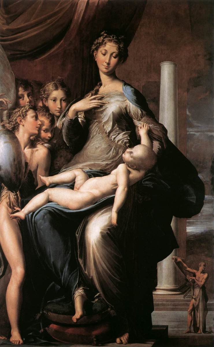 Parmigianino's Madonna of the Long Neck