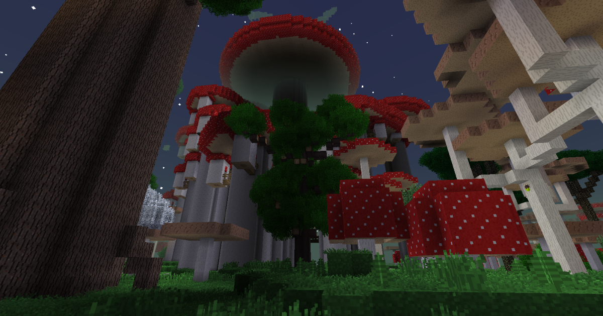 The Twilight Forest has many types of biomes and structures, and while you should be cautious about entering every area you see, many places are almost completely safe to visit.