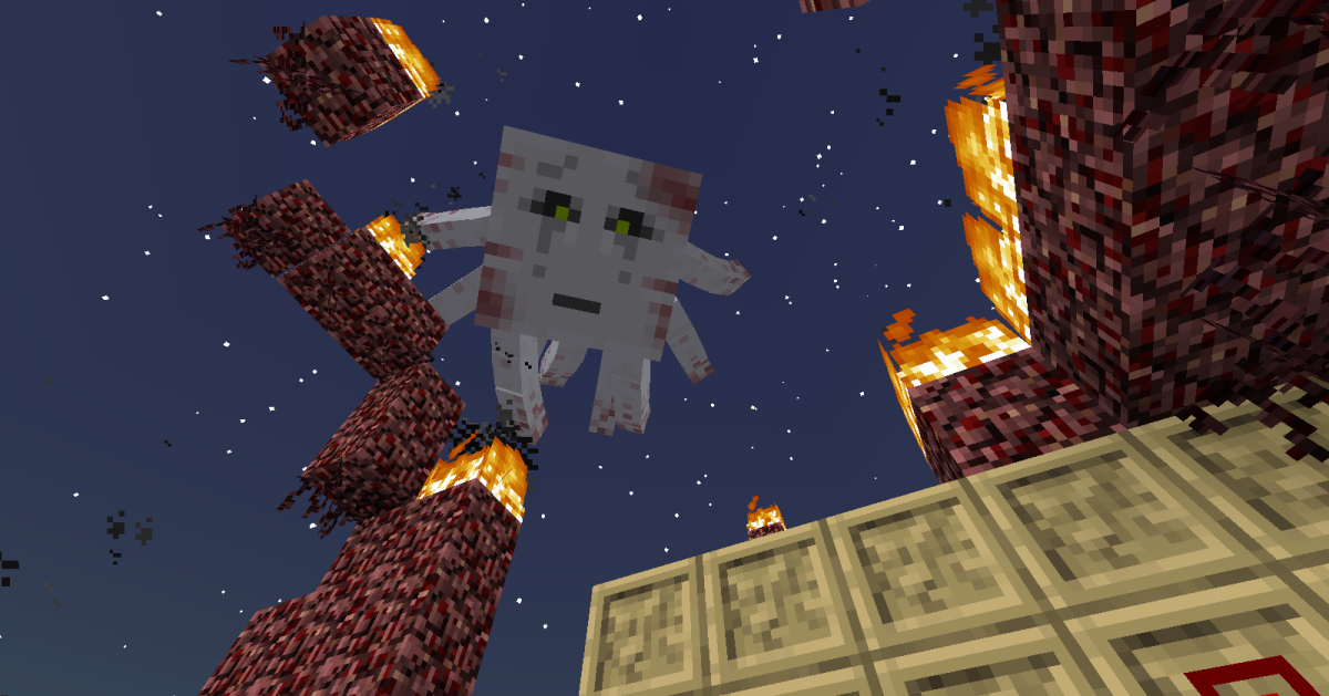 Players will want to bring a bow and lots of arrows with them to almost every boss battle in the mod.