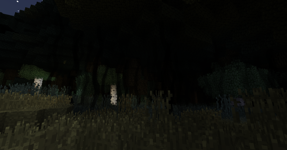 The Dark Forest is never a welcoming place, but unless you have slain the Hydra, it will inflict you with blindness whenever you attempt to travel through it.