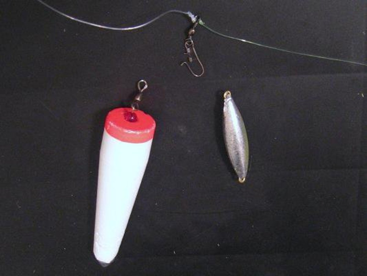 Quick Change Weighted Bobber/Sinker Fishing Rig