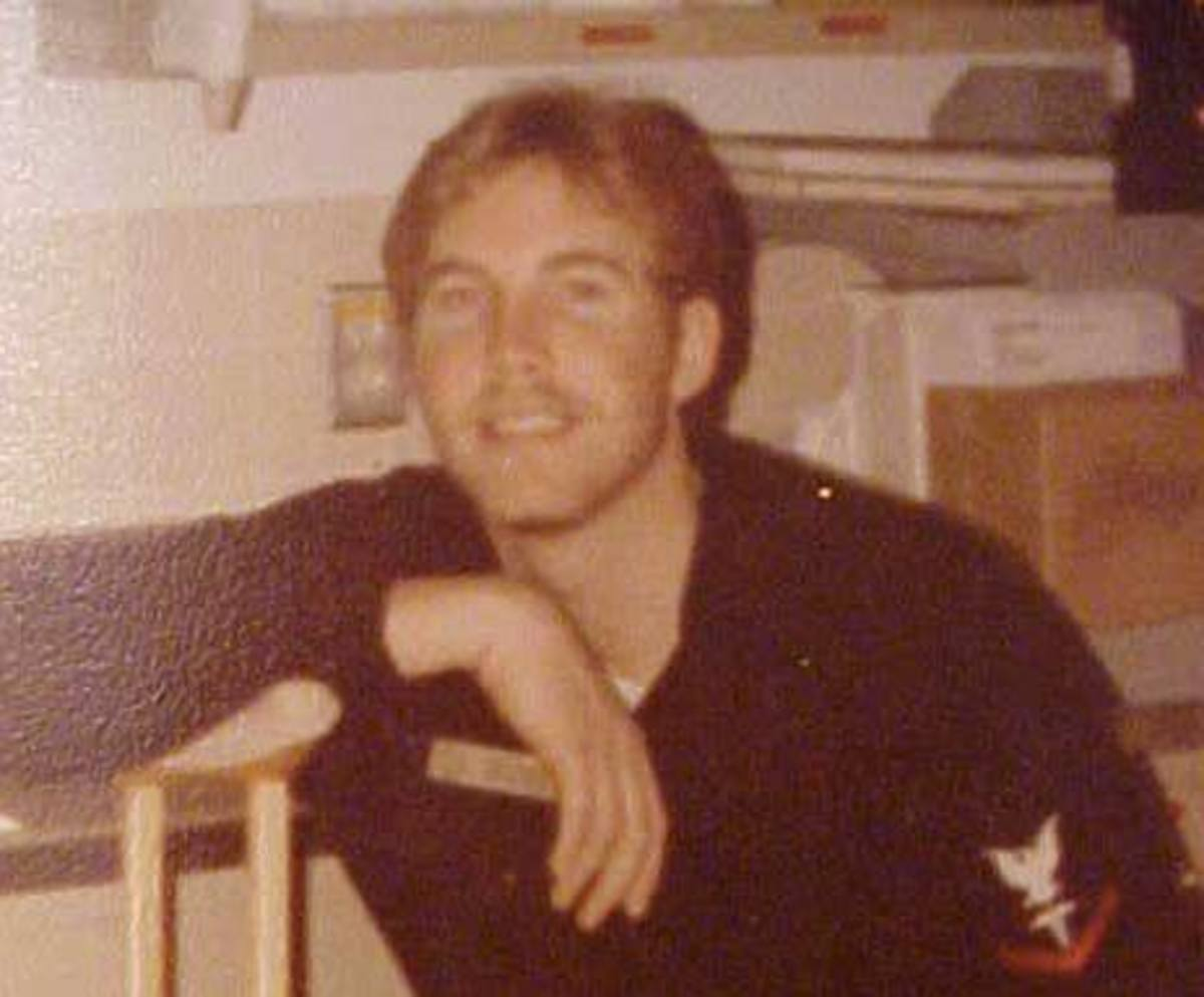 "The author at a Navy medical medical facility Whidbey Island Naval Hospital, Washington circa 1980. Hospital Corpsmen are called ""Doc"" especially on the battlefield."