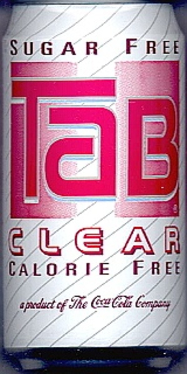 TaB soda is a diet cola soft drink manufactured by Coca Cola. This one is from the early 1990s.