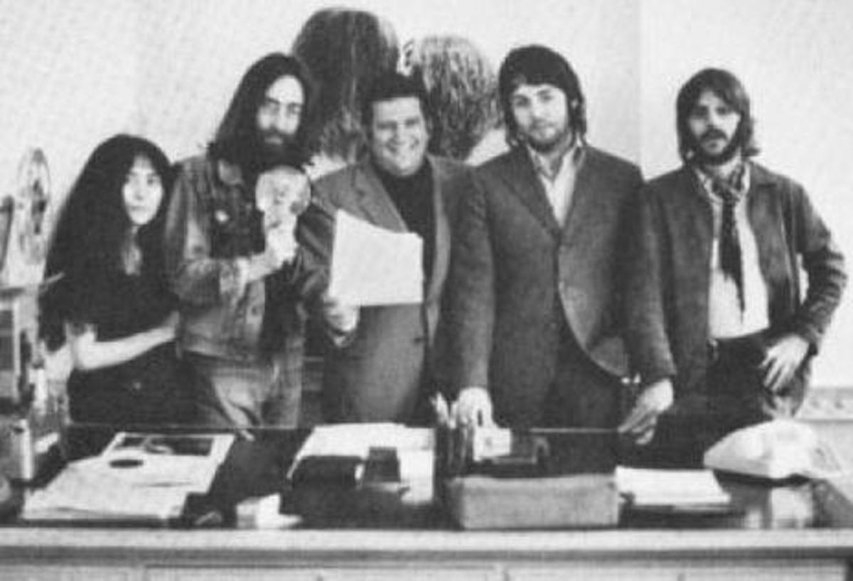The Beatles & Allen Klein