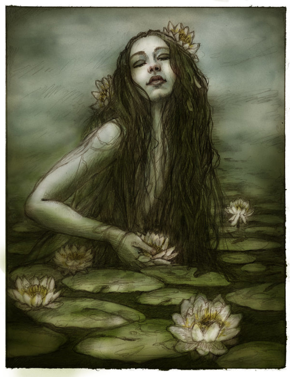 """""""Water Nymph"""" by AvantFae on Deviant Art"""