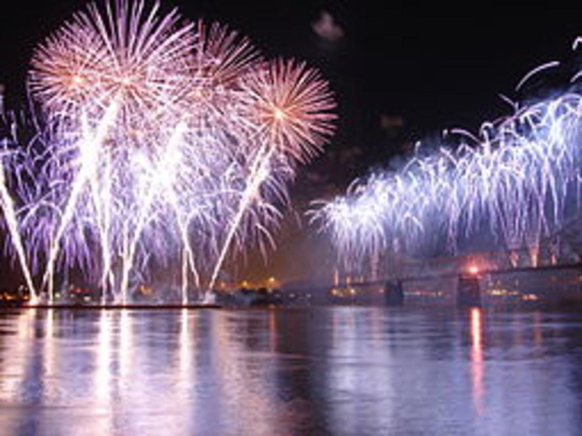 Thinder over Louisville fireworks