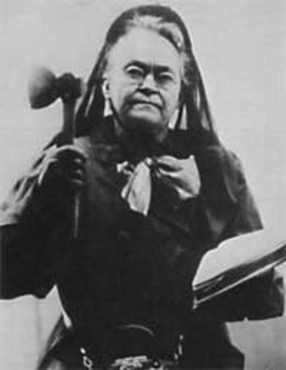 Carrie Nation 1846-1911