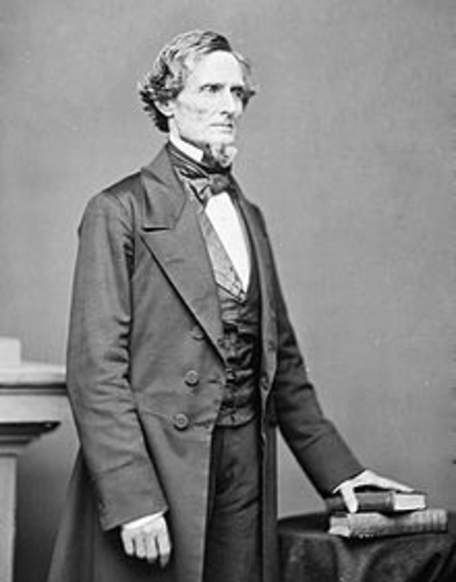 President Jefferson Davis, Confederacy 1807/08-1889
