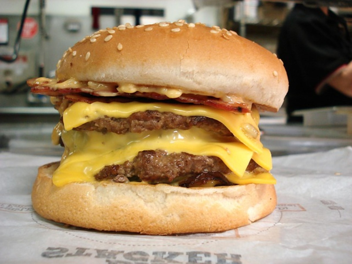 Now that's what I call a cheeseburger!