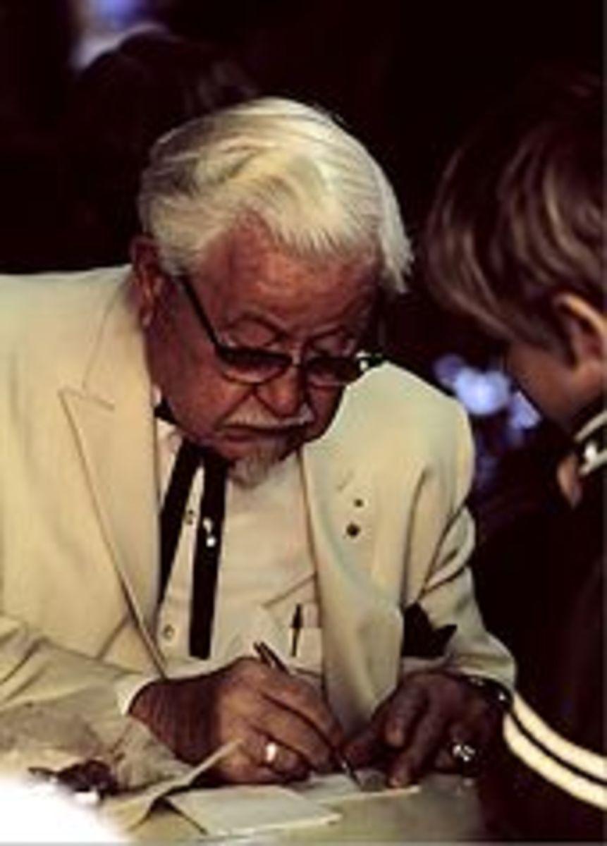 Colonel Harland David Sanders 1890-1980