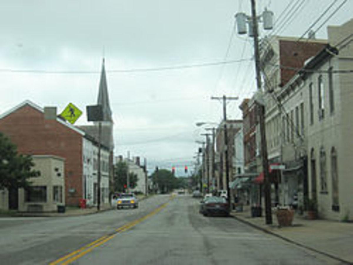 Main street, Cynthiana, KY