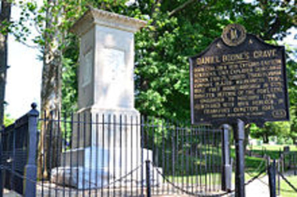 Daniel Boone gravesite