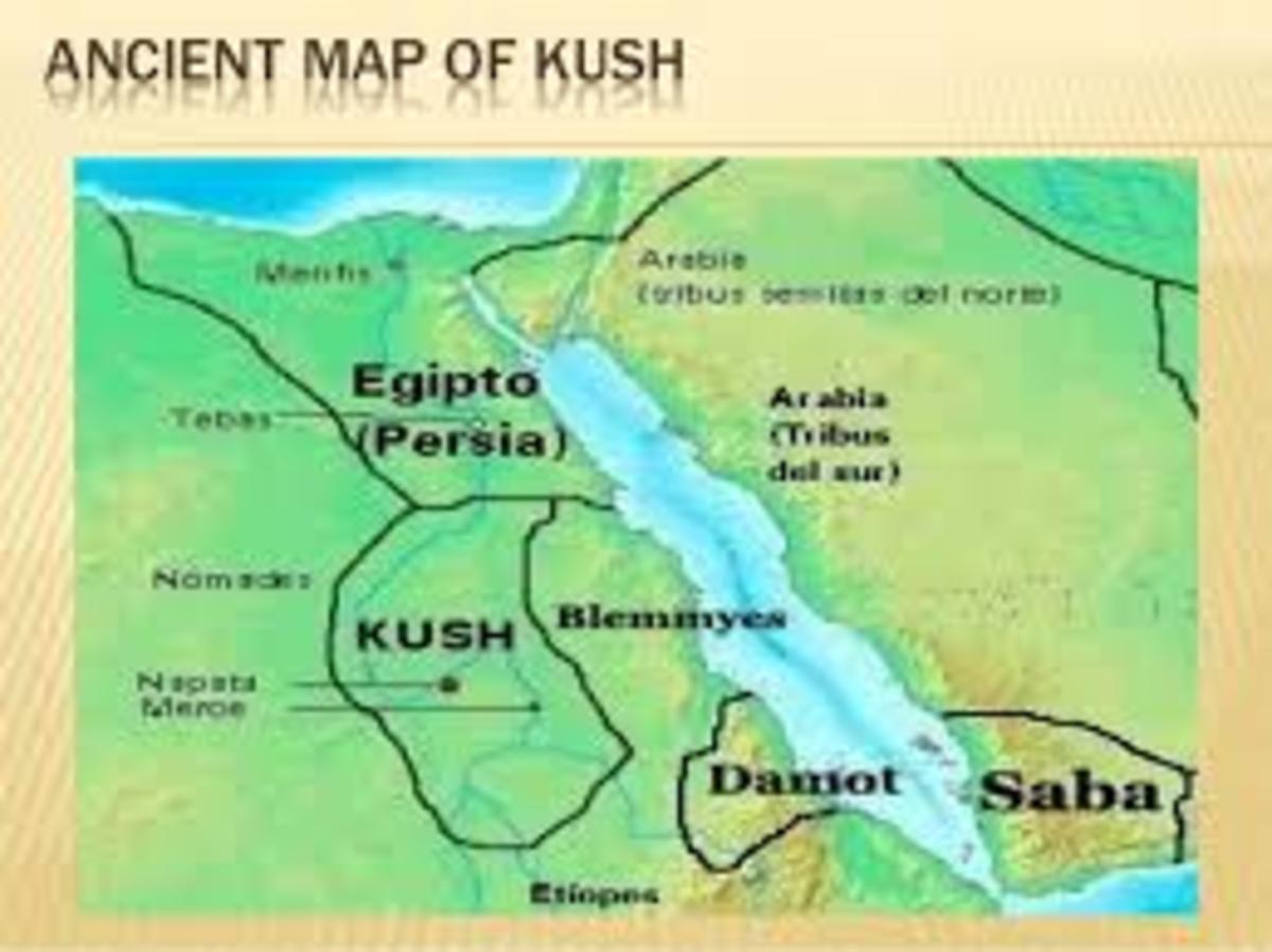 Location of Saba (Sheba?) during the Kushian Empire