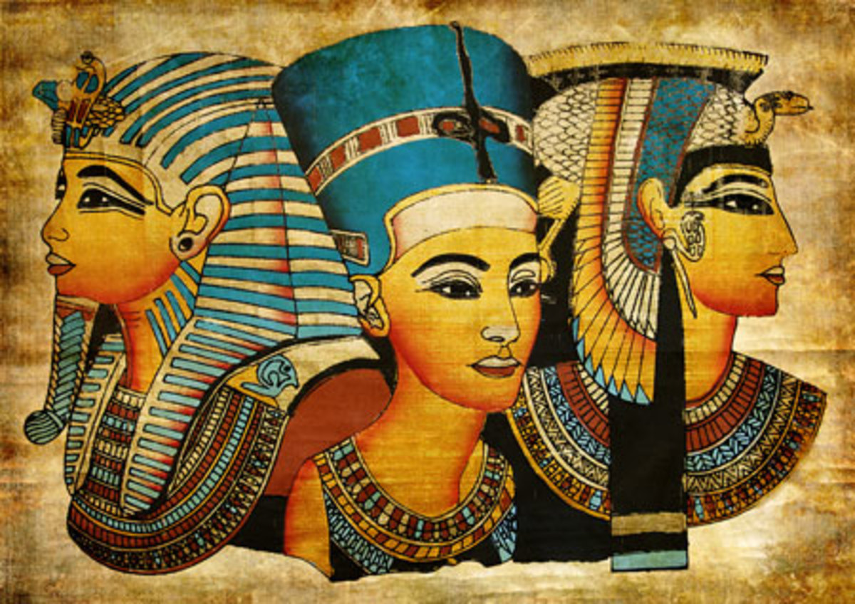 famous Queens of EGYPT- Hatshepsut, Nefertiti, and Cleopatra