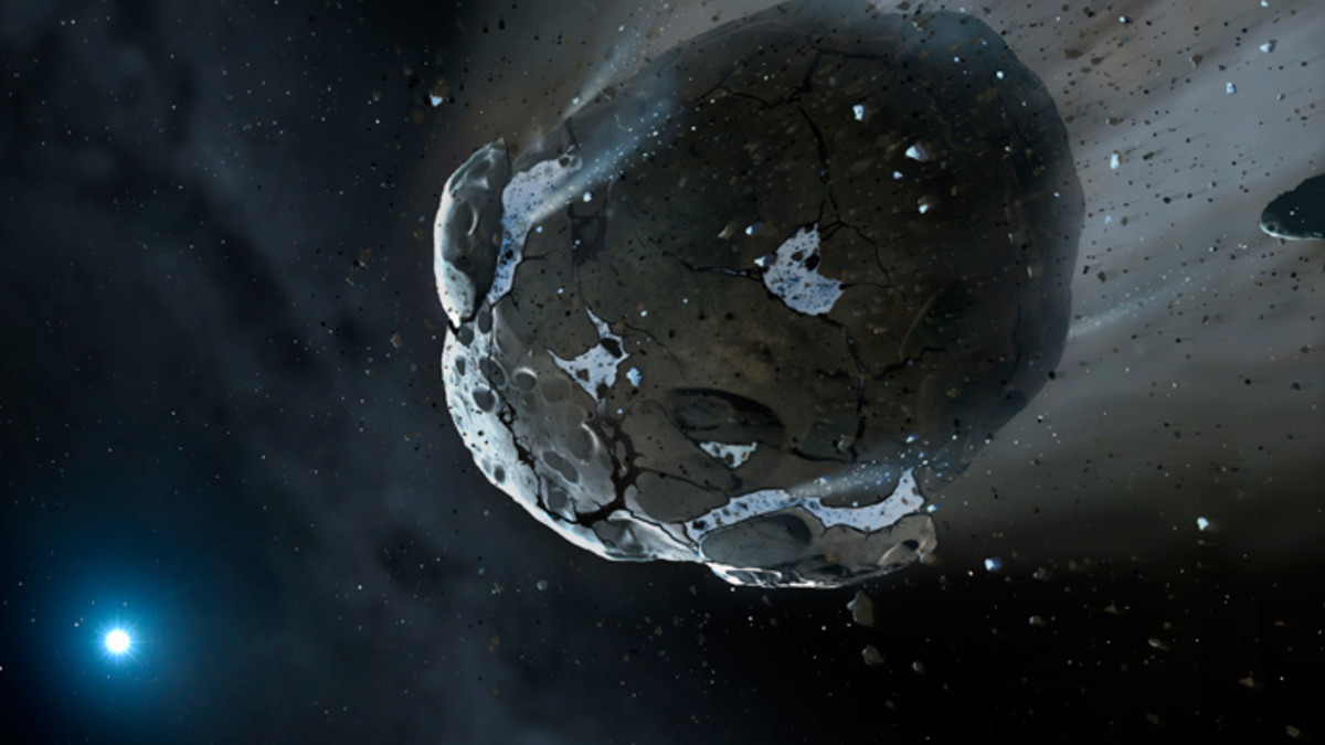 ASTEROID coming? When? Where? Another ICE AGE ?