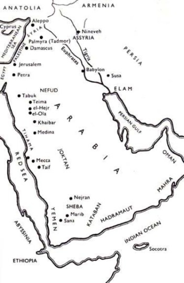 Ancient Kingdom of  Sheba (Saba)-present day-Yemen