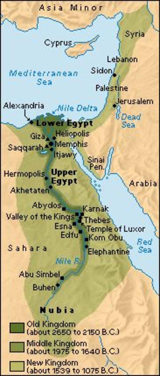 Ancient Egypt (kemet-  Black Lands)