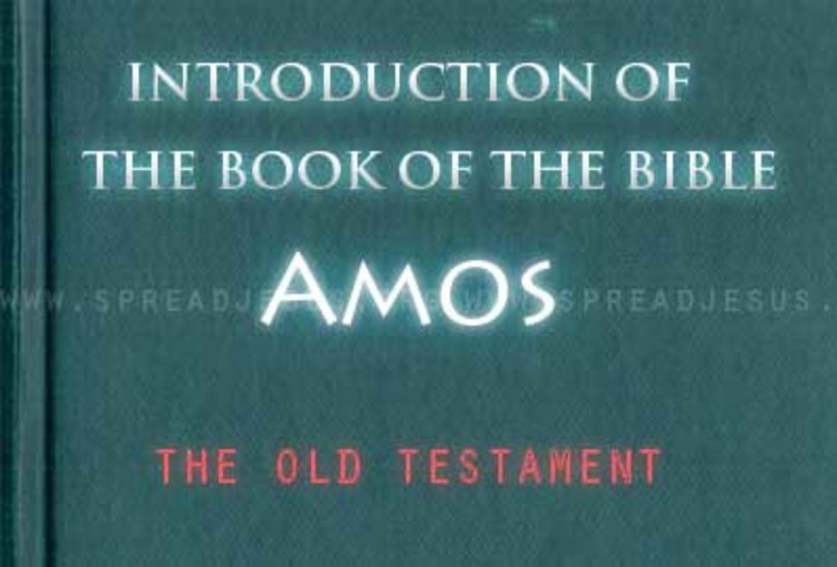 "The Book of Amos: Written by the ""Prophet of Justice"""