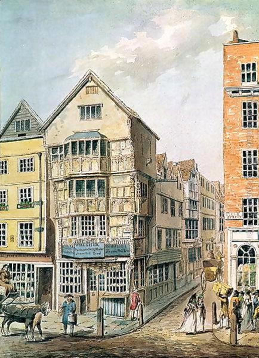 Fleet Street c.1700