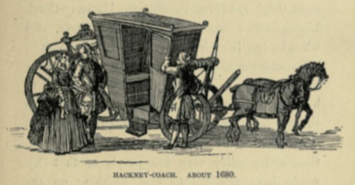 Hackney Carriage c.1680
