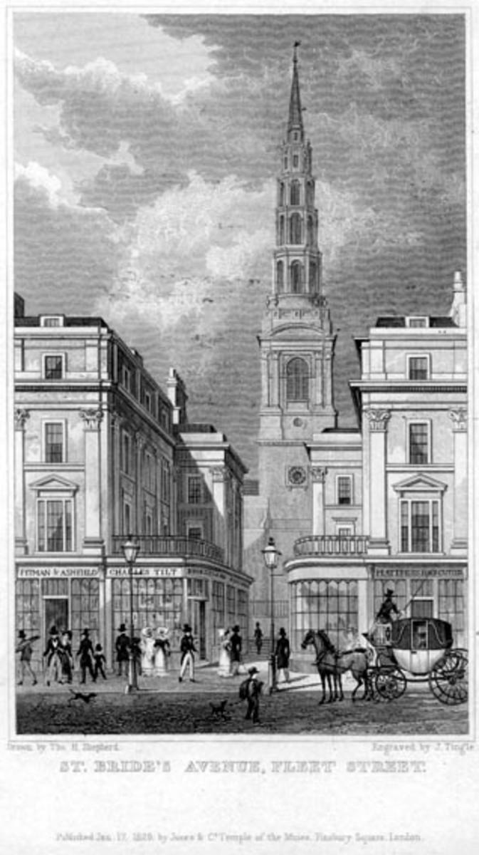 St. Brides Church, Fleet Street