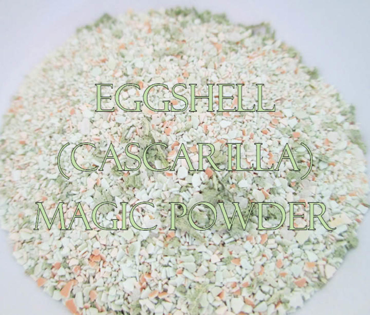 Eggshell (Cascarilla) Magic Powder: For Luck & Protection.